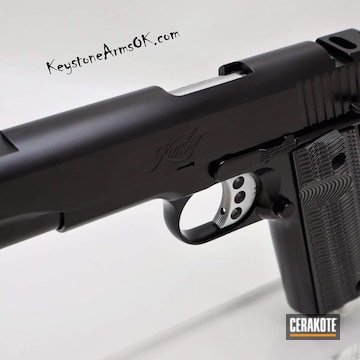 Cerakoted Black Kimber 1911