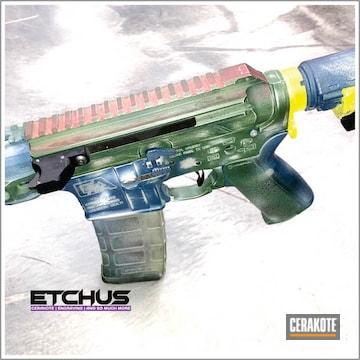 Cerakoted Mandalorian Themed Rifle