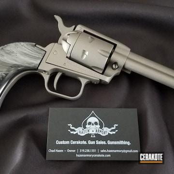 Cerakoted Grey .22lr Revolver