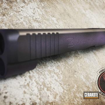 Cerakoted Glock 34 Slide In H-146 And H-217