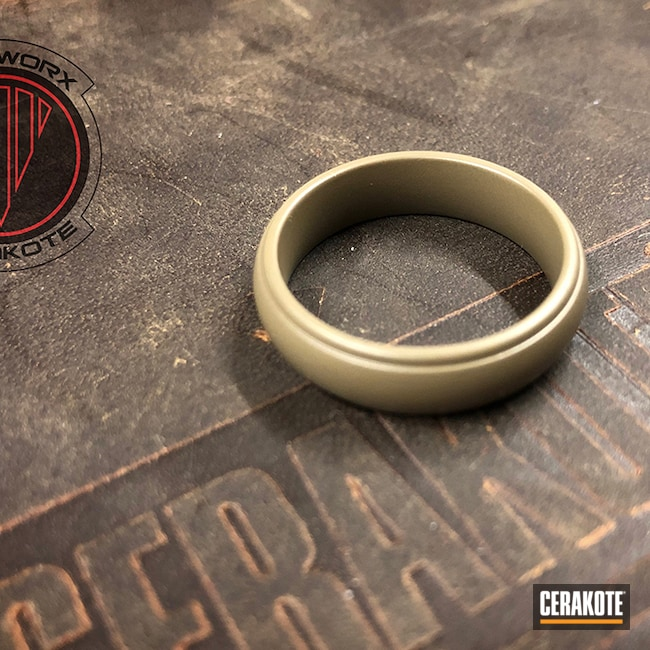 Cerakoted: MAGPUL® FLAT DARK EARTH H-267,Lifestyle,Rings,Jewelry