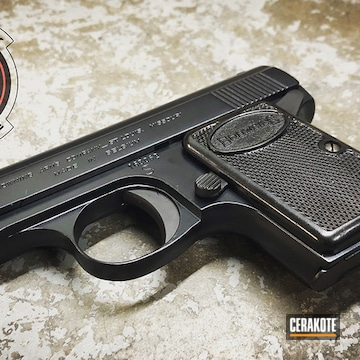 Cerakoted Browning Handgun In H-238 And H-146