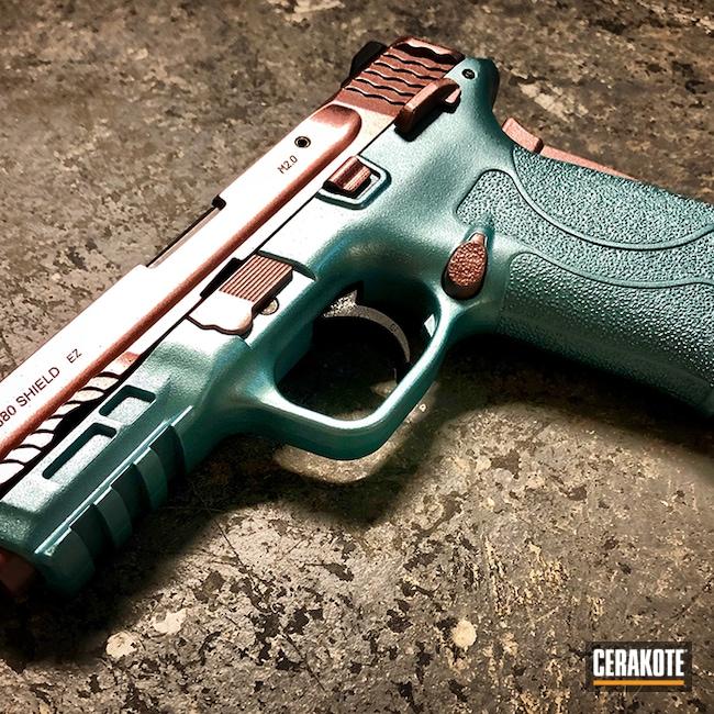 Cerakoted: SHOT,M&P,380EZ,Graphite Black H-146,Smith & Wesson,Pistol,GunCandy