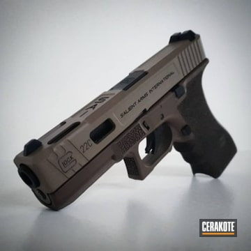 Cerakoted Airsoft Glock 22c In H-267, H-146 And H-226