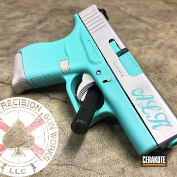 Cerakoted Glock 43 In H-175 And H-151