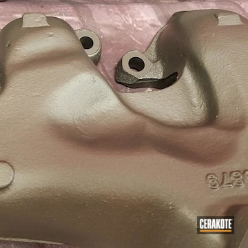 Cerakoted Exhaust Manifold In C-7600 And C-7700