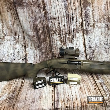 Cerakoted In Browning 12 Gauge Turkey Gun H-267, H-146 And H-226
