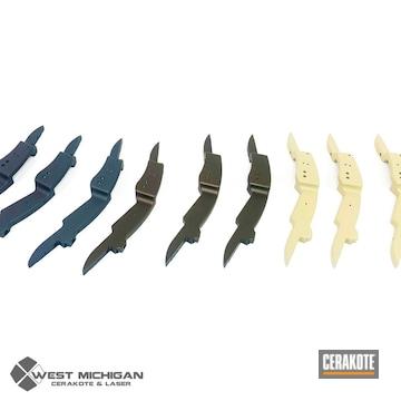 Cerakoted Bow Risers