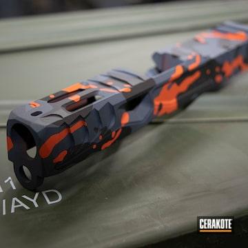 Cerakoted Glock Slide In H-146, H-128 And H-130