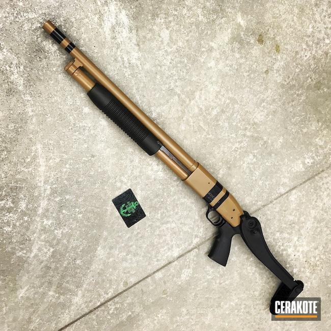 Cerakoted: S.H.O.T,500,20150 E-190,Shotgun,BLACKOUT E-100,Mossberg