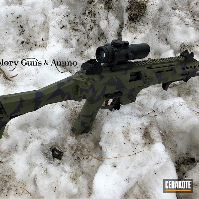 Cerakoted: SHOT,9mm,Scorpion,Graphite Black H-146,Bright Purple H-217,CZ,Carbine,Noveske Bazooka Green H-189,SIG™ DARK GREY H-210,MAGPUL® O.D. GREEN H-232