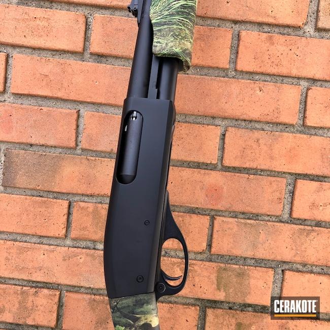 Cerakoted: S.H.O.T,Shotgun,Armor Black H-190,870,Remington