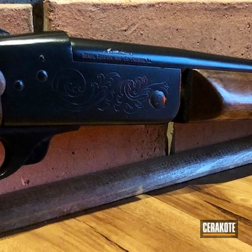 Cerakoted Black Shotgun