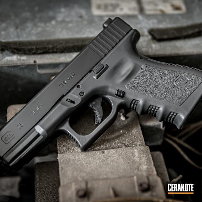 Cerakoted: SHOT,Dual Tone,Glock,Smoke E-120,Concrete E-160,Glock 25,Handguns