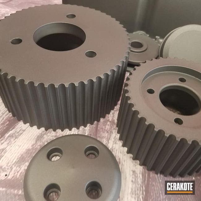 Cerakoted: Super Charger,Chevy,Engine Parts,TUNGSTEN C-111,Automotive Parts,Valve Covers,Automotive,High Temperature