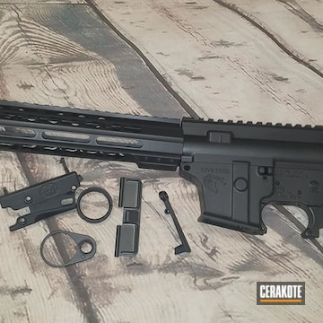 Cerakoted Black Ar-15
