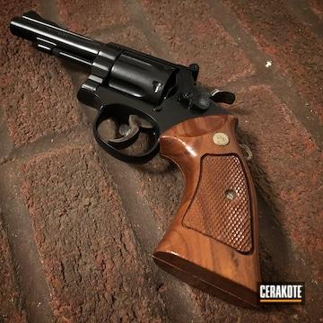 Cerakote Black .38 Special S&w Revolver