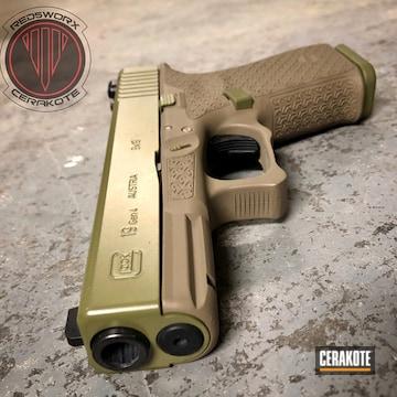 Cerakote Glock 19 9mm In H-267 And H-189