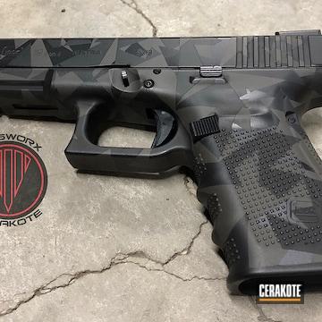 Cerakote Splinter Camo Glock 19