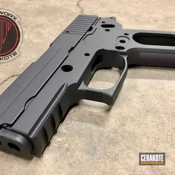 Cerakote Grey Sig Sauer P220