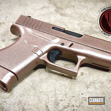 Cerakote And Guncandy Glock 43 Handgun