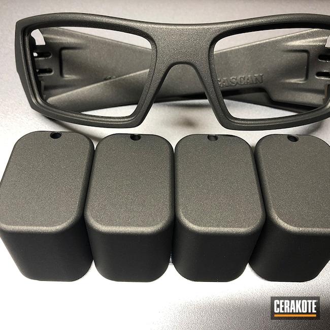 Cerakoted: Sunglasses,Oakley,Lifestyle,Tungsten H-237,Magazine