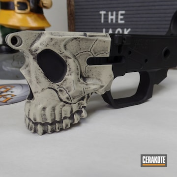 Cerakoted Ar-15 Jack Lower Receiver In H-247 And H-297