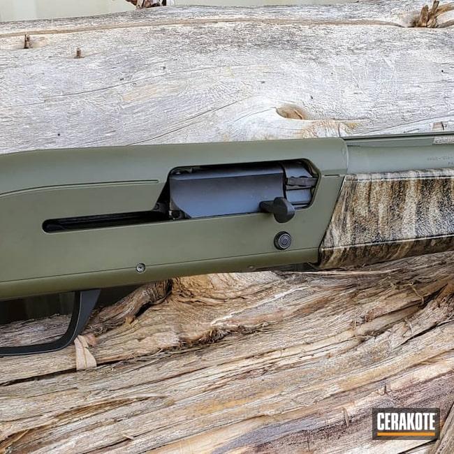 Cerakoted: SHOT,Shotgun,Mil Spec O.D. Green H-240,Maxus,Browning,12 Gauge