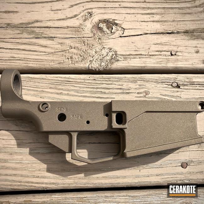 Cerakoted: SHOT,Lower,AR,Anderson,Burnt Bronze H-148