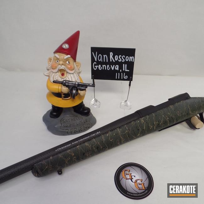 Cerakoted: S.H.O.T,Receiver,Graphite Black H-146,Christensen Arms,Cerakote That S**t,Ridgeline