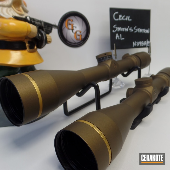 Cerakoted: SHOT,Scope,Leupold Scope,Burnt Bronze H-148,Cerakote That S**t,Leupold