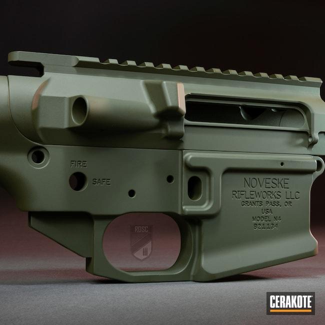 Cerakoted: S.H.O.T,Sniper Green H-229,Noveske,.223,n4,AR-15