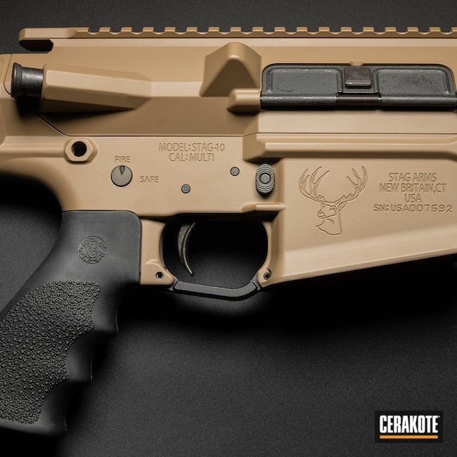 Cerakoted: SHOT,MAGPUL® FLAT DARK EARTH H-267,Stag Arms,AR-10,Tactical Rifle,.308,Stag 10