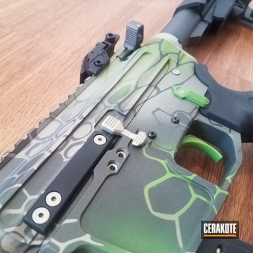Cerakoted Kryptek Ar 9mm