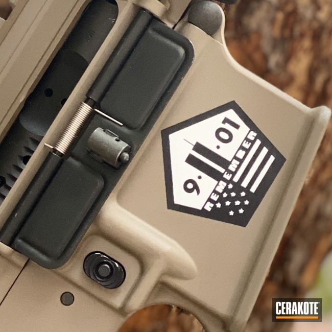 Cerakoted: SHOT,MAGPUL® FLAT DARK EARTH H-267,DPMS,Custom Cerakote
