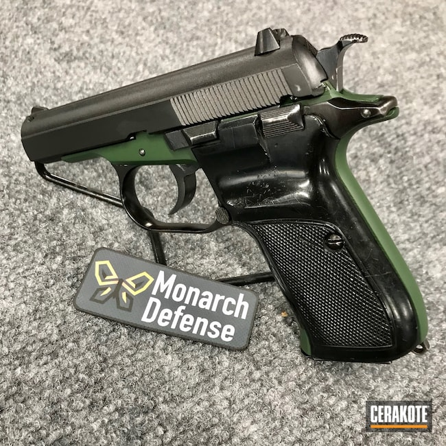 Cerakoted: S.H.O.T,Highland Green H-200,Restoration,Pistol,Handgun