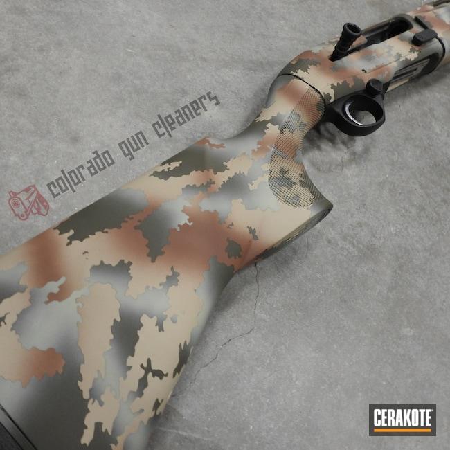 Cerakoted: S.H.O.T,Shotgun,Federal Brown H-212,DESERT VERDE H-256,Camo,BENELLI® SAND H-143,MAGPUL® O.D. GREEN H-232,Beretta 1300
