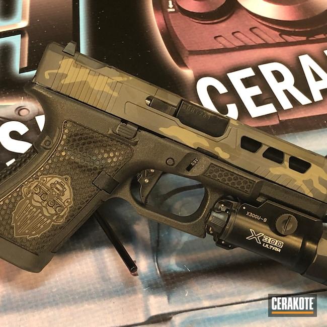 Cerakoted: SHOT,9mm,Sniper Grey H-234,Graphite Black H-146,Pistol,Glock,Forest Green H-248,MultiCam Black