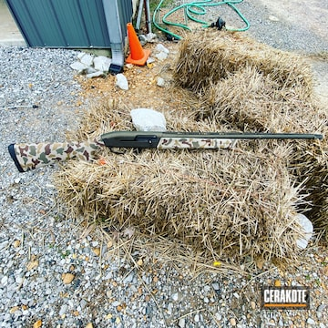 Cerakoted Waterfowl Camo Browning Shotgun