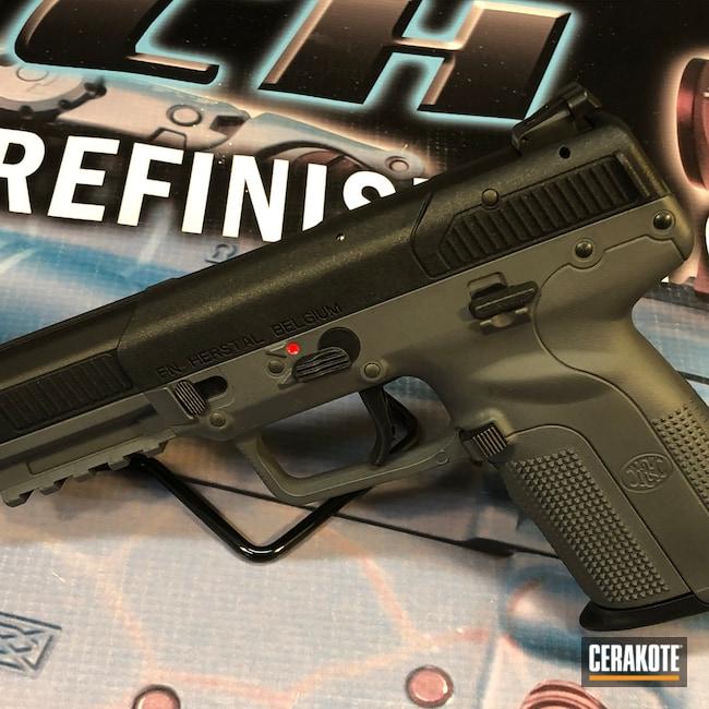 Cerakoted: SHOT,Sniper Green H-229,Pistol,Sniper Grey,5.7,FN