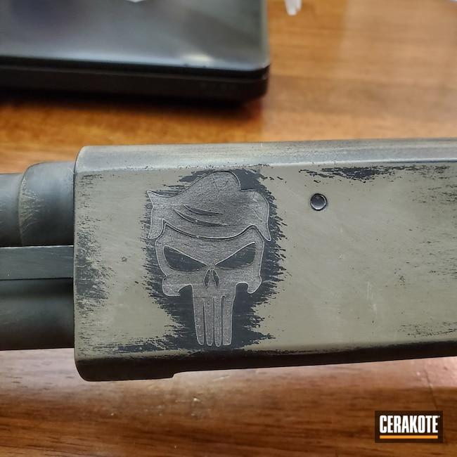 Cerakoted: S.H.O.T,Shotgun,Armor Black H-190,Remington,Flat Dark Earth H-265,410