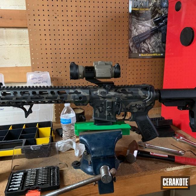 Cerakoted: SHOT,Palmetto State Armory,MAGPUL® FLAT DARK EARTH H-267,MultiCam,BLACKOUT E-100,Cerakote,Tactical Rifle,.223,Smoke E-120,5.56