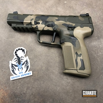 Cerakoted Multicam Fn Five Seven