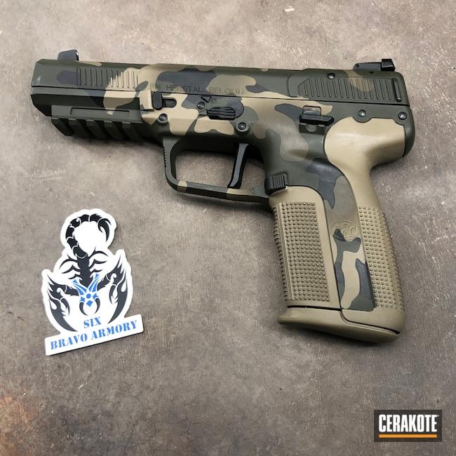 Cerakoted: S.H.O.T,MAGPUL® FLAT DARK EARTH H-267,MultiCam,Graphite Black H-146,5.7x28,Patriot Brown H-226,Fiveseven,Pistol,5.7,Mil Spec Green H-264,FN