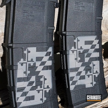 Cerakoted Grey Pmags