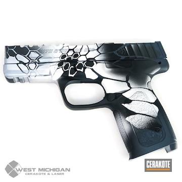 Cerakoted Kryptek S&w Sd9 Handgun