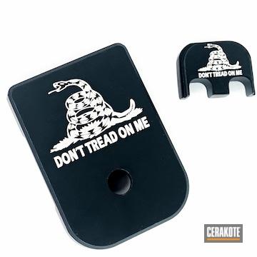 Cerakoted Custom Glock Base Plate In H-146