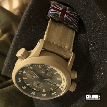 Cerakoted Watches In H-199
