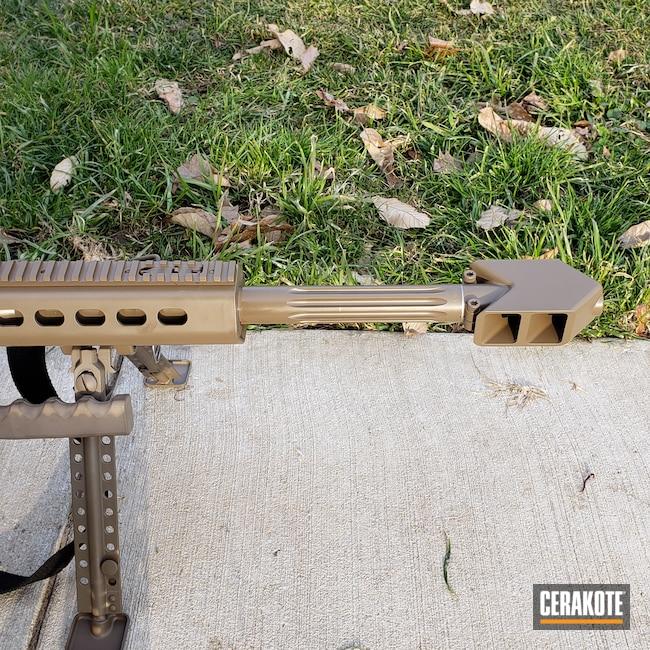 Cerakoted: .50 cal,50,50 BMG,FDE E-200,Long Range Rifle