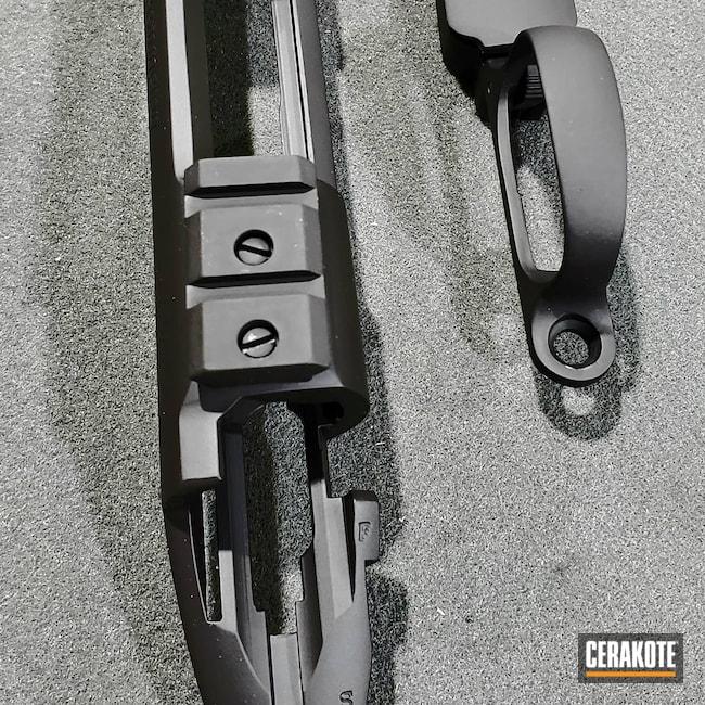 Cerakoted: SHOT,Rifle,Graphite Black H-146,Rem 700,Remington,.308,700